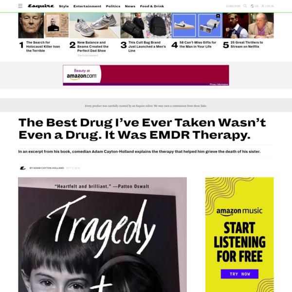 The Best Drug I've Ever Taken Wasn't Even a Drug. It Was EMDR Therapy.