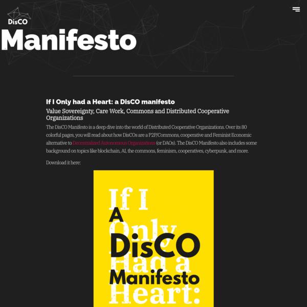 Manifesto – DisCO.coop