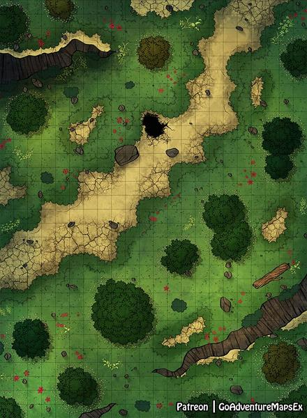 [OC][Art] Forest Road [22 x 30]