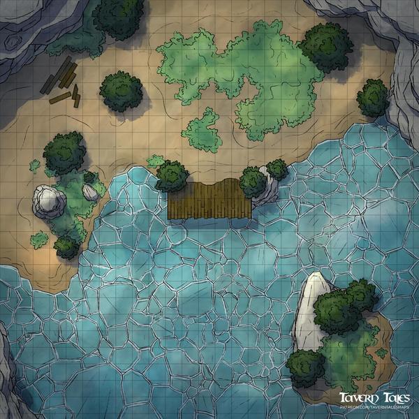 Frozen Pond [25x25]