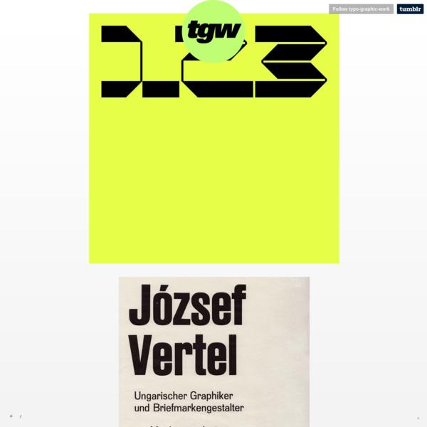 typo-graphic-work