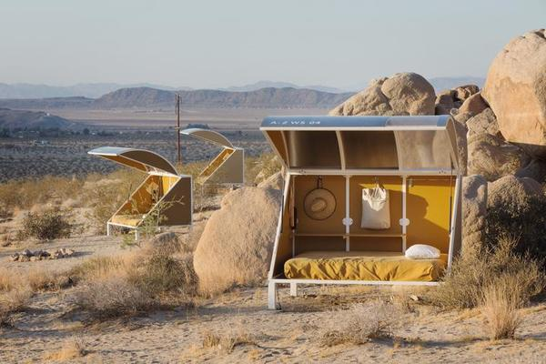 Andrea Zittel, Wagon Station in situ at A-Z West, Joshua Tree, CA, 2015