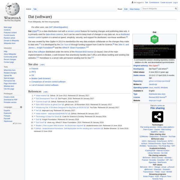 Dat (software)