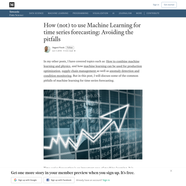 How (not) to use Machine Learning for time series forecasting: Avoiding the pitfalls