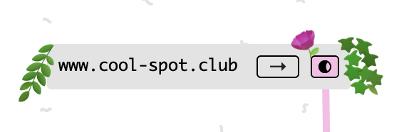cards with urls in the name will have a '→' button that you can click to goto that url