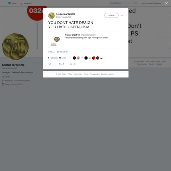 neuroticarsehole on Twitter