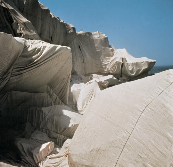 Christo and Jeanne-Claude Wrapped Coast