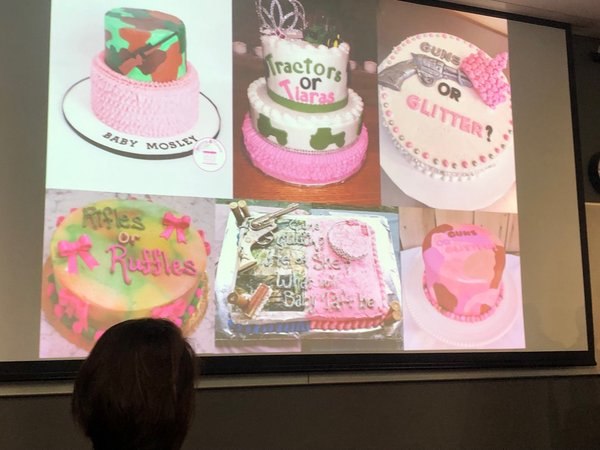 """""""@astridlorange   @rat_steak  on the gender reveal party and militarised indexes before the human body is even a body as such. We all gasped with astonishment  @everydaymil"""" @TessSLea"""