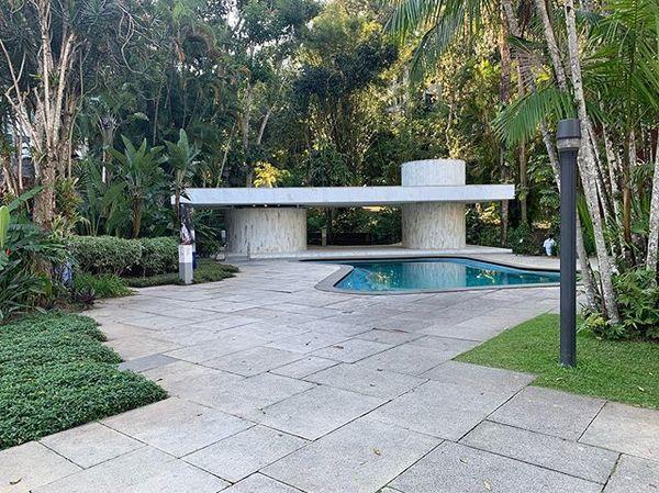 Best. Cabana. Ever. Casa Moreira Salles, Olavo Redig de Campos 1949, Gavea