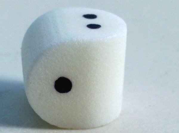 two sided die