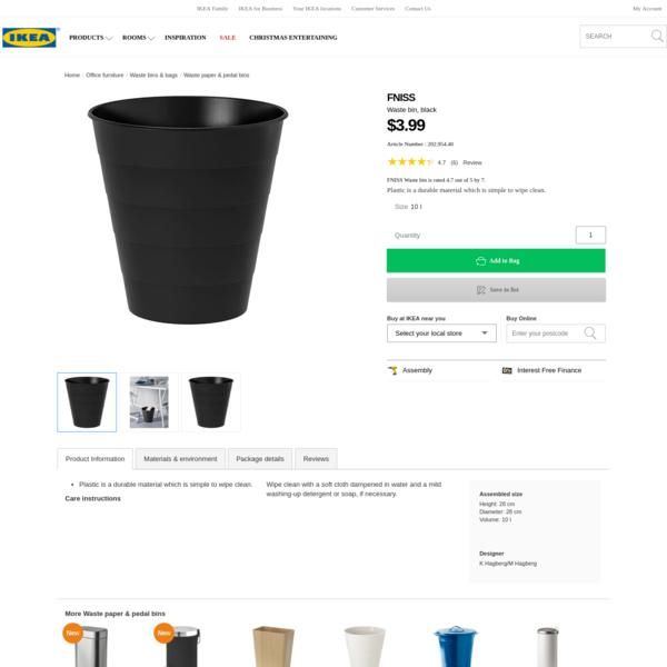 FNISS Waste bin - IKEA