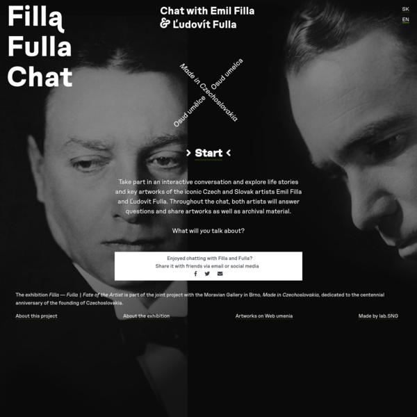 Chatuj s Emilom Fillom & Ľudovítom Fullom
