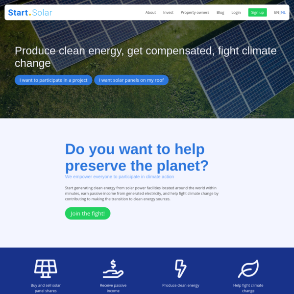 Start.Solar buy solar panels today