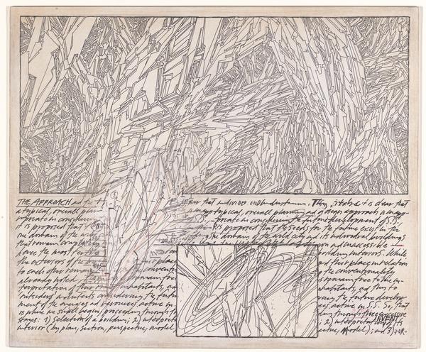 Terrain (Project), Lebbeus Woods, 1999