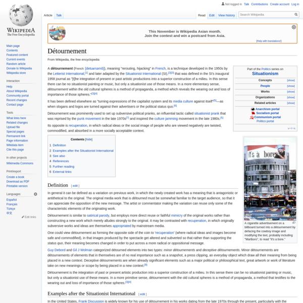 Détournement - Wikipedia