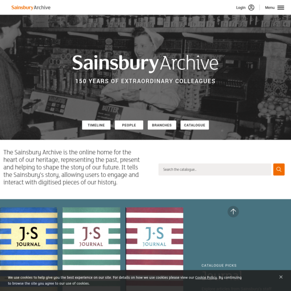 Sainsbury Archive
