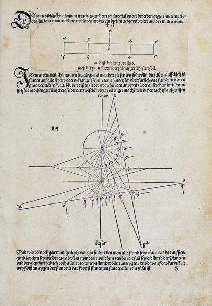 Four Books on Measurement, p113, Albrecht Dürer, 1525
