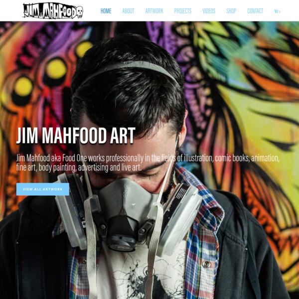 JimMahfood.com - Visual Funk Art Destruction