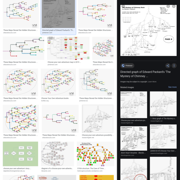 choose your own adventure diagram - Google Search