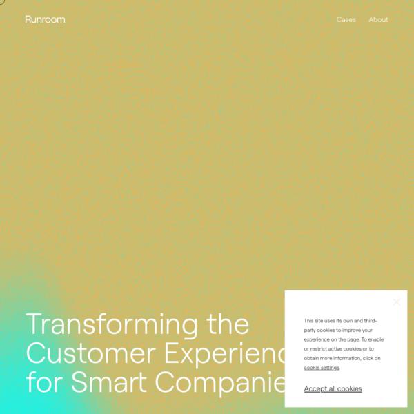 Runroom | Tech & Creative Consultancy