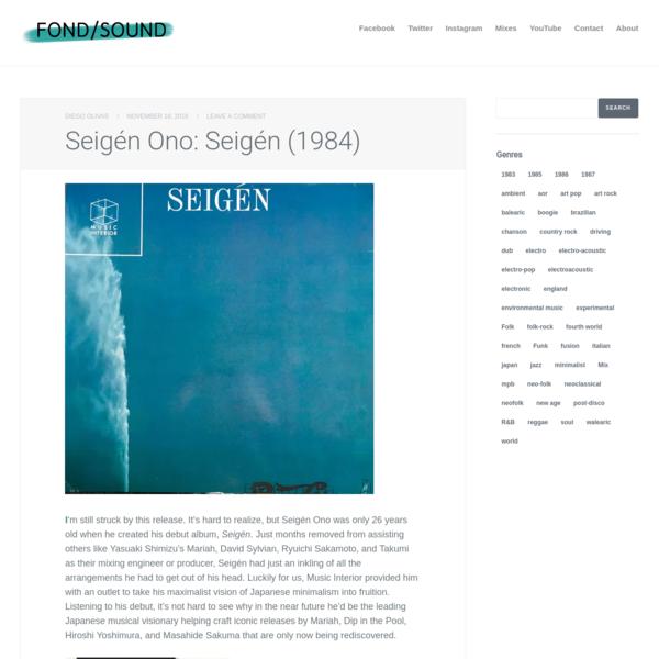 Seigén Ono: Seigén (1984)