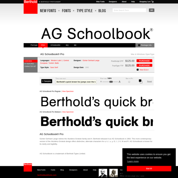 AG Schoolbook® Pro