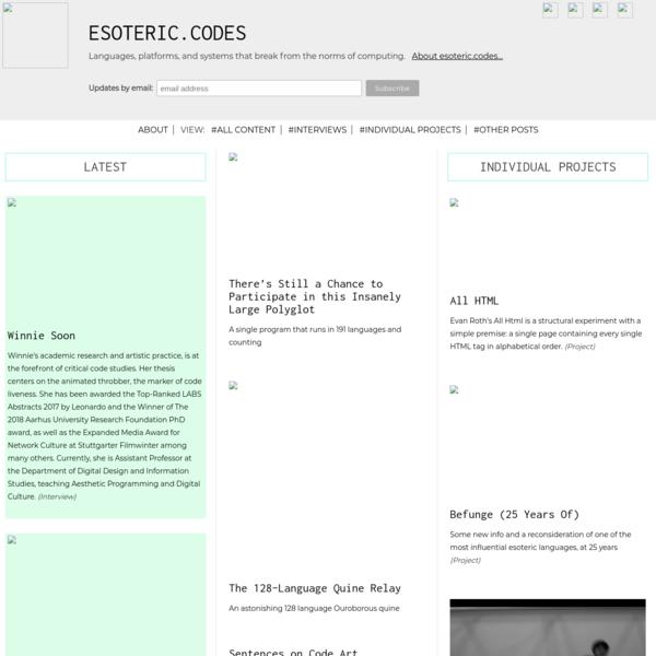 esoteric.codes