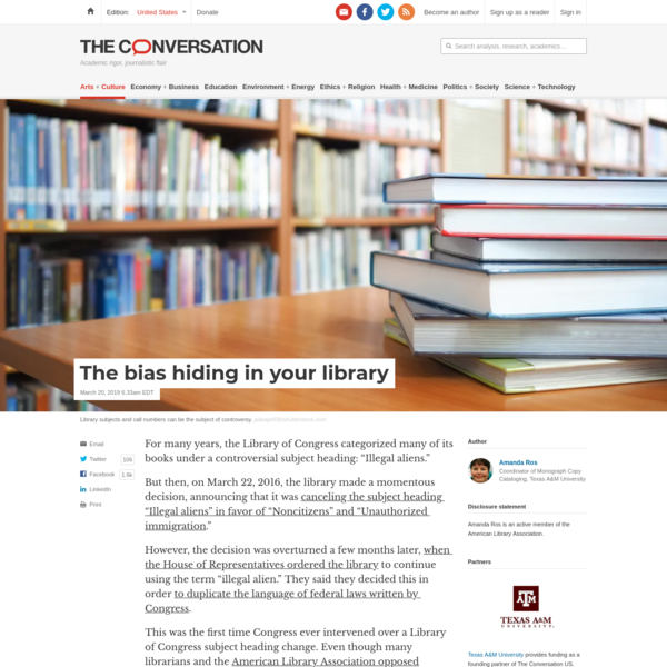 The bias hiding in your library