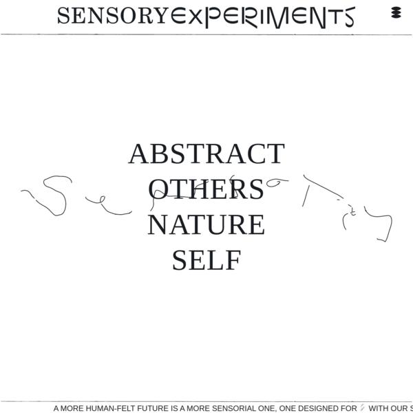 Sensory Experiments