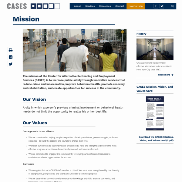 Mission | CASES