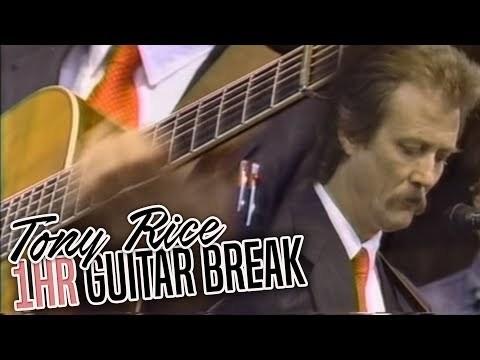 Tony Rice - C R A Z Y 1hr GUITAR SOLO!!!