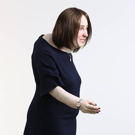 Meet Emma, a life-sized representation of what the average office worker may look like by 2040