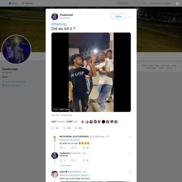 Tisakorean on Twitter