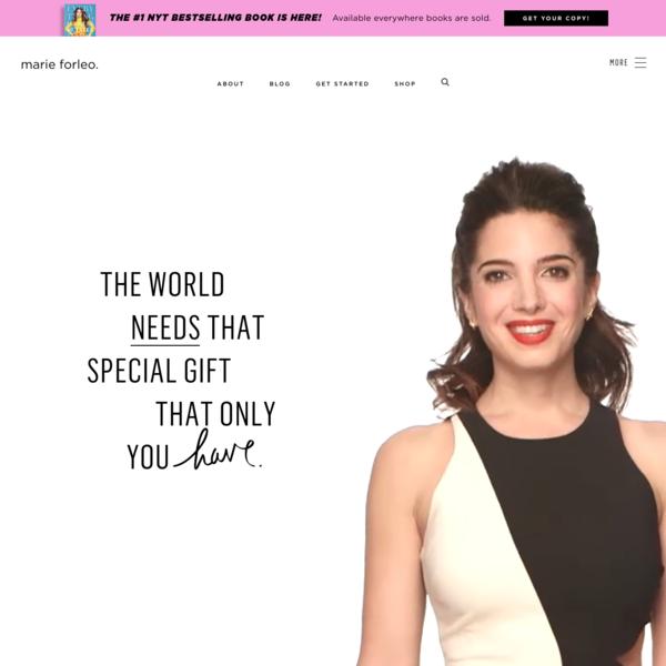 Marie Forleo - host of MarieTV, entrepreneur and philanthropist