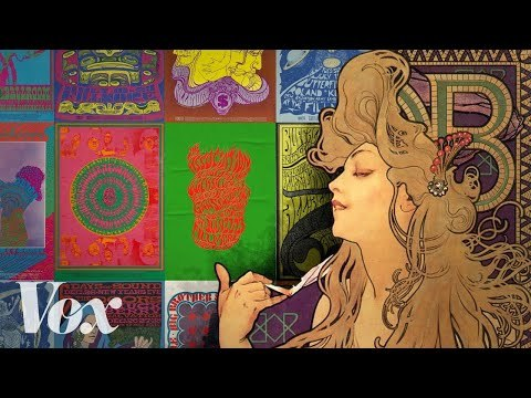 """Where the 1960s """"psychedelic"""" look came from"""