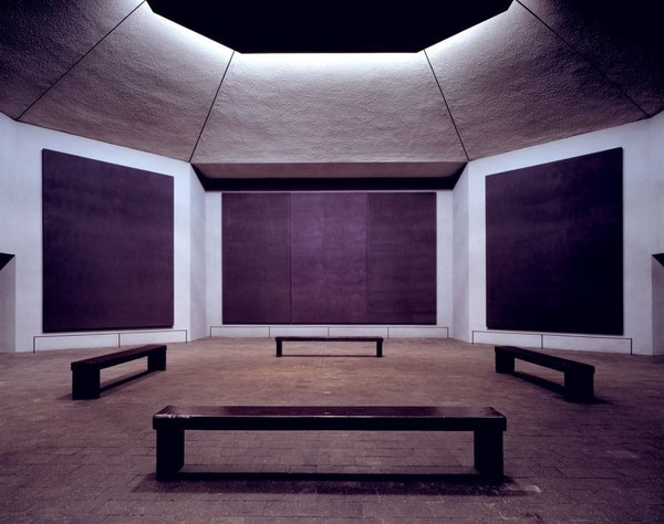 "Philip Johnson, ""Rothko Chapel"""