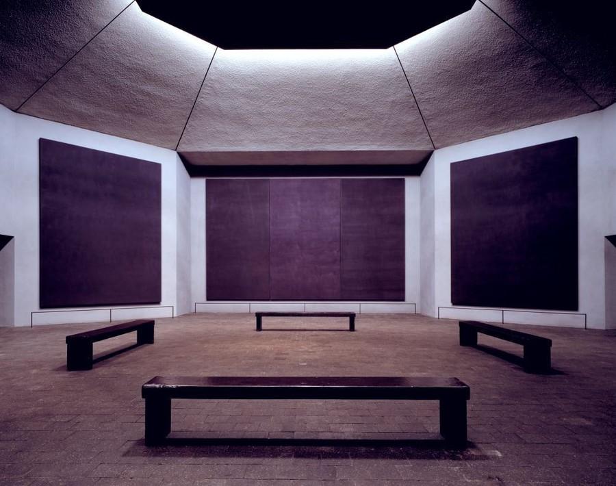 "Philip Johnson, ""Rothko Chapel"""