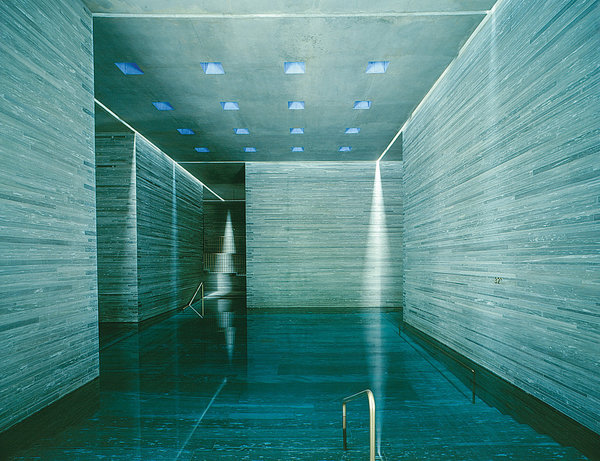 "Peter Zumthor ""Therme Vals"""