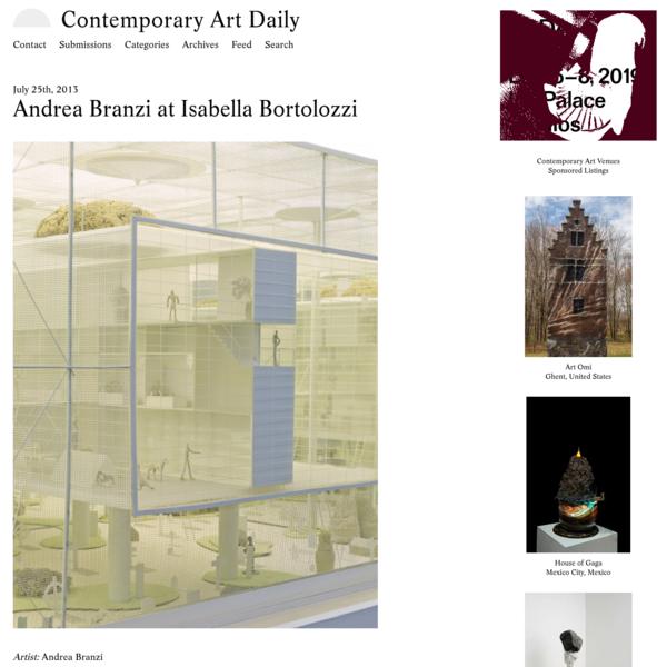 Andrea Branzi at Isabella Bortolozzi