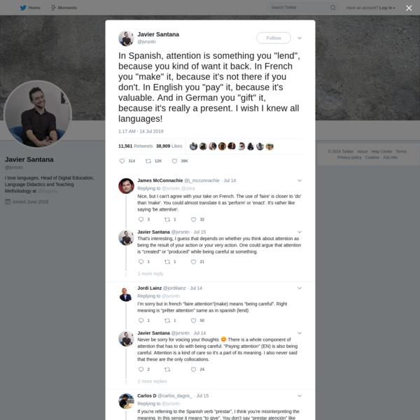 Javier Santana on Twitter