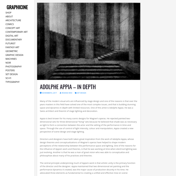 Adolphe Appia - In Depth