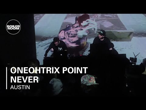Oneohtrix Point Never Ray-Ban x Boiler Room 005 | Hudson Mohawke Presents 'Chimes' Live Set