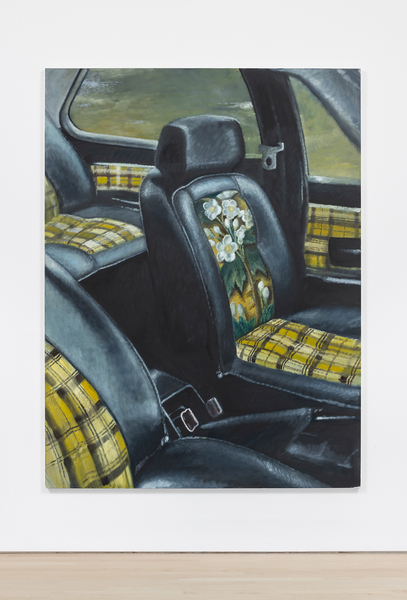 Car interior / For once, 2019