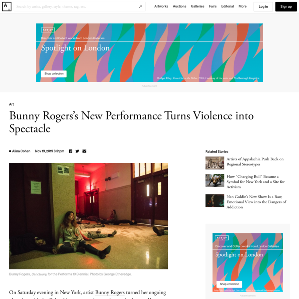 Bunny Rogers's New Performance Turns Violence into Spectacle