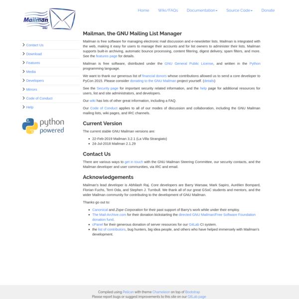 GNU Mailman