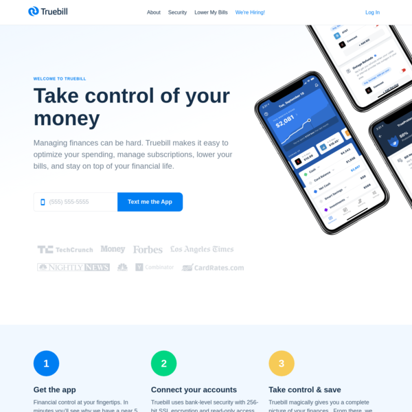 Truebill - Find Subscriptions, Track Bills, and Cancel Recurring Charges