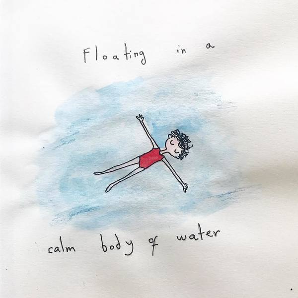 Had a nostalgic weekend dreaming about the summer -floating in a calm body of water (a pool, a lake) like nothing else exist...