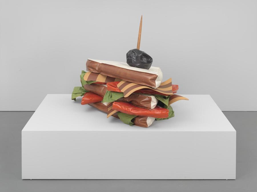 Claes Oldenburg, Giant BLT (Bacon, Lettuce, and Tomato Sandwich), 1963