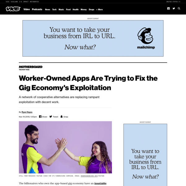 Worker-Owned Apps Are Trying to Fix the Gig Economy's Exploitation