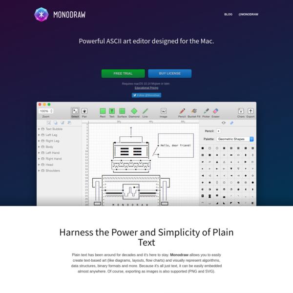 Monodraw for macOS - Helftone
